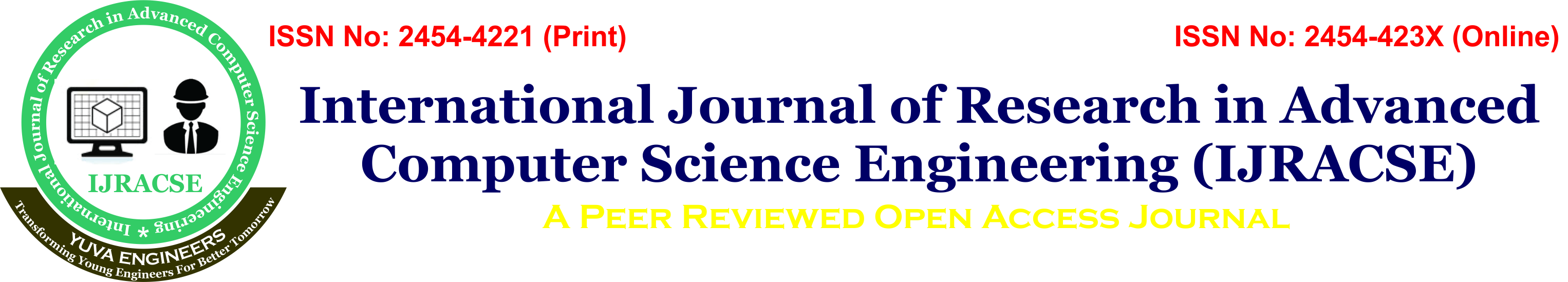 International Journal of Research in Advanced Computer Science Engineering